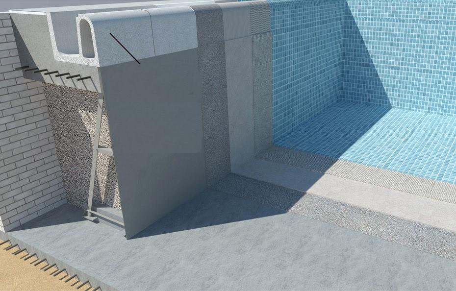 Панельный бассейн