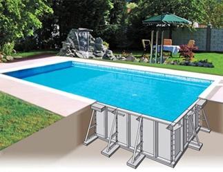 Панельный бассейн цена